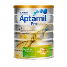 新西兰Aptamil白金版婴幼儿配方奶粉 2段(6-12个月)900g(保税仓发货)