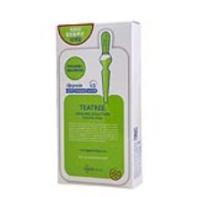 韩国Mediheal美迪惠尔茶树面膜Teatree Healing solution Essential Mask 10片 /盒(2件起购)