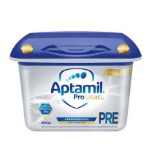 德國Aptamil愛他美奶粉白金版Pre段(0-3個月寶寶)800g【2罐起發】(保稅倉發貨)
