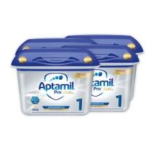 德国Aptamil爱他美白金版1段婴幼儿奶粉 800g(保税仓发货)(4件装)