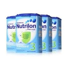 荷蘭Nutrilon牛欄 奶粉 3段(10-12個月寶寶)800g(4件裝)(保稅倉發貨)