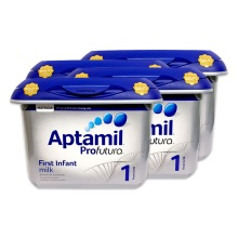 英国爱他美Aptamil白金版婴幼儿奶粉1段800g(保税仓发货)(4件装)