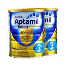 澳洲 爱他美Aptamil 金装婴儿配方奶粉3段 900g(保税仓发货)(2件装)