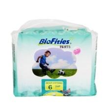 爱婴舒坦(BioFities)天使系列 6号XXL号拉拉裤 美国原装进口(24片)