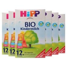 德国Hipp Bio喜宝有机奶粉4段(12个月以上宝宝)800g(保税仓发货)(6件装)
