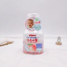 日本貝親桃子葉沐浴乳450ml(保稅倉發貨)