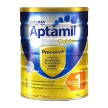 新西兰Aptamil爱他美婴儿奶粉1段(0-6个月宝宝) 900g(保税仓发货)