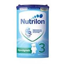 荷蘭 Nutrilon牛欄 較大嬰兒配方奶粉3段易樂罐 10-12月齡 800g(保稅倉發貨)(6件裝)