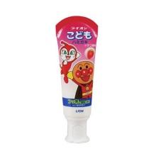 日本进口LION狮王 儿童牙膏 面包超人 40g*2支 草莓味