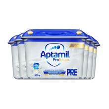 德國 Aptamil愛他美 白金版嬰兒配方奶粉Pre段 800g(新包裝)(保稅倉發貨)(6件裝)