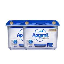 德国 Aptamil爱他美 白金版婴儿配方奶粉 Pre段 800g(保税仓发货)(2件装)