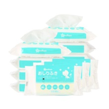 日本西松屋 湿巾 婴幼儿擦屁屁960张(80张*12包*1箱)(保税仓发货)