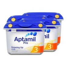 英国爱他美Aptamil白金版婴幼儿奶粉3段800g(保税仓发货)(4件装)