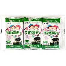 ZEK 竹盐烤海苔(5g*3)*6袋