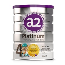 新西兰A2 Platinum酪蛋白婴儿奶粉4段(3岁以上宝宝) 900g【2罐起发】(保税仓发货)