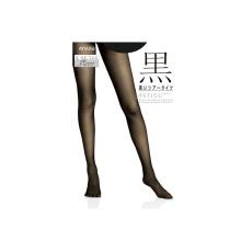 日本厚木ATSUGI黑系列FP6291连裤袜25D 480#黑色M-L 1双装(保税仓发货)