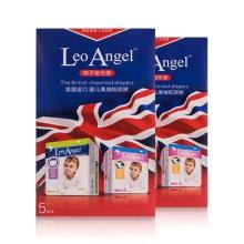 LEO ANGEL(狮子座天使)婴儿纸尿裤S号5片装*2盒