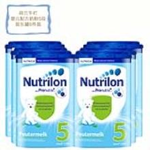 荷蘭 Nutrilon牛欄 較大嬰兒配方奶粉5段易樂罐 二歲以上 800g(保稅倉發貨)(6件裝)疫情期間,湖北暫不能發貨