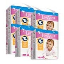 LEO ANGEL(狮子座天使)婴儿纸尿裤S70*6包3.19—3.25活动期间赠送迪卡侬背包1个+儿童无比滴1盒