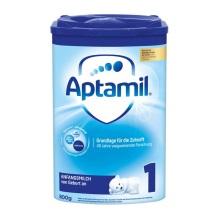 德國Aptamil愛他美 奶粉 1段(3-6個月寶寶)800g(4件裝)(保稅倉發貨)