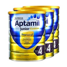 澳洲 爱他美Aptamil 金装婴儿配方奶粉4段 900g(保税仓发货)(4件装)