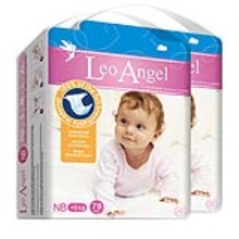 LEO ANGEL(狮子座天使)婴儿纸尿裤NB78*2包