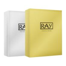 泰国RAY芮一蚕丝面膜金色面膜10片+银色面膜10片(2盒套装)