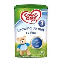英国Cow&Gate牛栏婴儿奶粉3段(1-2周岁宝宝)900g(保税仓发货)(4件装)