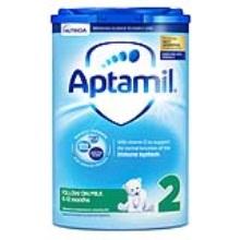 英國 Aptamil愛他美 嬰兒配方奶粉2段易樂罐 6-12月齡 800g(保稅倉發貨)(6件裝)