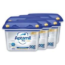德國Aptamil愛他美白金版PRE段嬰兒奶粉 800g(保稅倉發貨)(6件裝)