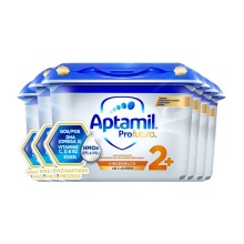 德國 Aptamil愛他美 白金版幼兒配方奶粉2+段 800g(新包裝)(保稅倉發貨)(6件裝)