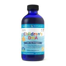 美国NORDIC NATURALS挪威小鱼儿 鱼肝油滴剂 DHA草莓味237ml (2件装)(保税仓发货)