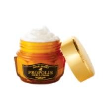 skinfood思亲肤 蜂蜜活颜蜂胶修护霜 温和补水滋润63ml