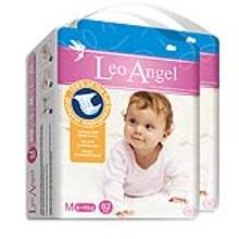 LEO ANGEL(狮子座天使)婴儿纸尿裤M62*2包