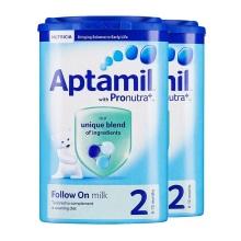 英国Aptamil爱他美婴儿奶粉2段(6-12个月宝宝)900g(保税仓发货)(2 件起购)