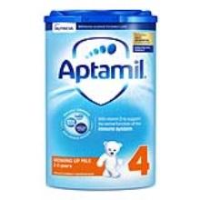 英國 Aptamil愛他美 嬰兒配方奶粉4段易樂罐 2周歲-3周歲 800g(保稅倉發貨)(6件裝)