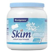 澳大利亚Maxigenes美可卓脱脂高钙奶粉1kg(保税仓发货)