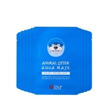 韩国SNP斯内普水獭形水漾保湿面膜  25ml*10  (2件起购)