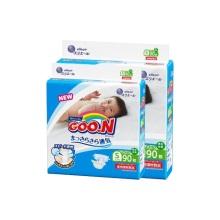 日本大王 GOO.N维E婴儿纸尿裤 小号S90(保税仓发货)(2件装)