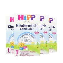 德國Hipp BIO喜寶 益生菌奶粉 1+段(1周歲以上寶寶)600g(4件裝)(保稅倉發貨)