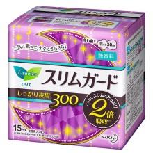 日本花王乐而雅Laurier夜用护翼型卫生巾30cm*15片(保税仓发货)
