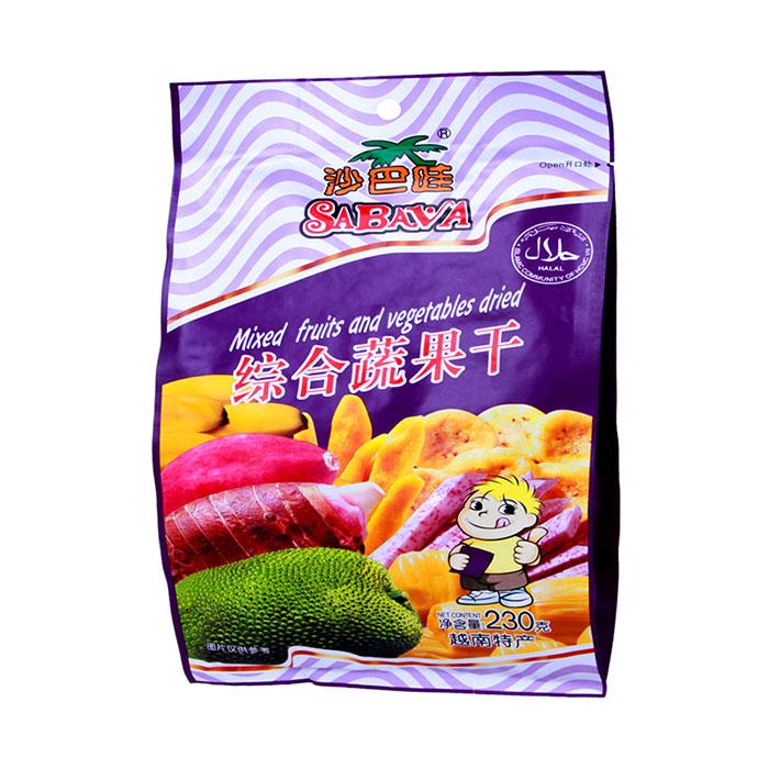 色干综合_沙巴哇 综合蔬果干230g