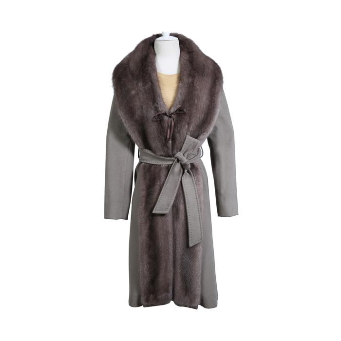 女士大衣 灰色
