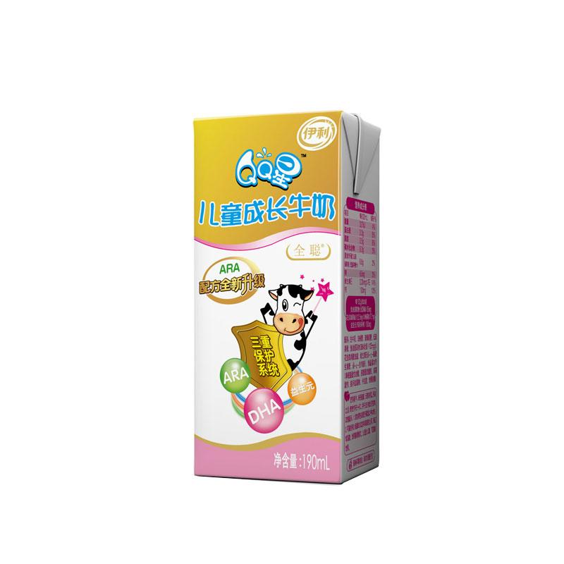 qq星儿童成长牛奶